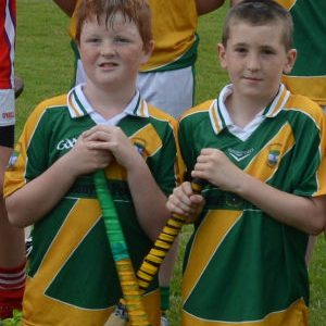 Two hurlers