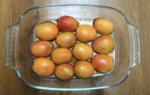 Baked Apricot Pudding 1