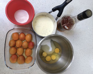 Baked Apricot Pudding 2