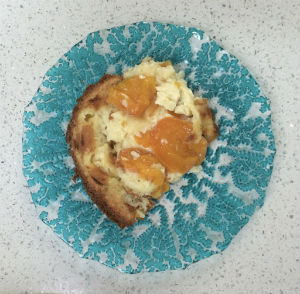 Baked Apricot Pudding 4